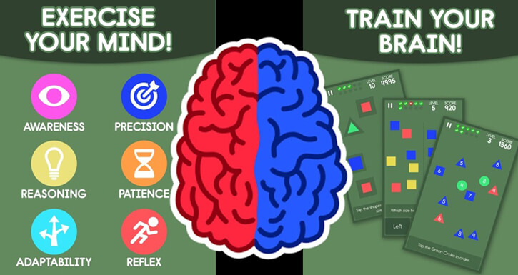 BRAIN TRAINING EXERCISE AND GAMES FOR KIDS